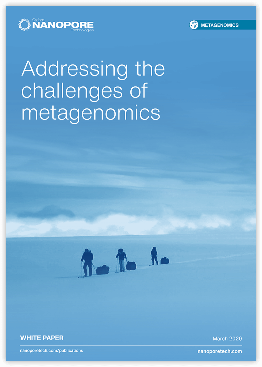 Metagenomics white paper